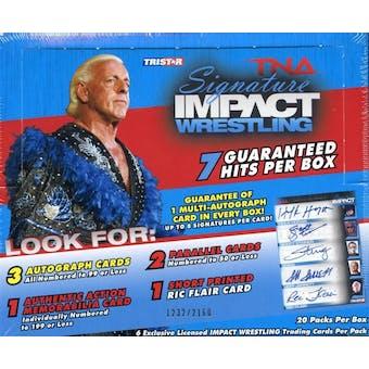 2011 TriStar TNA Signature Impact Wrestling Hobby Box