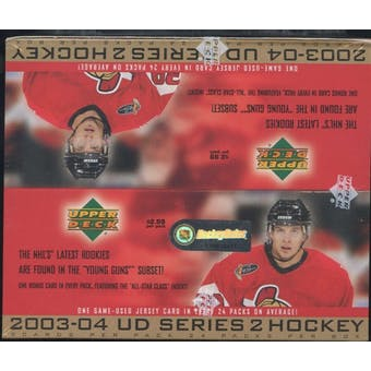 2003/04 Upper Deck Series 2 Hockey 24-Pack Box