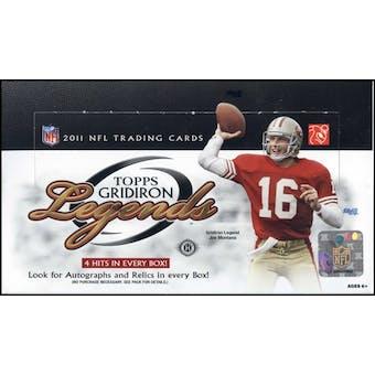 2011 Topps Gridiron Legends Football Hobby Box