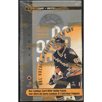 1995/96 Leaf Hockey Hobby Box