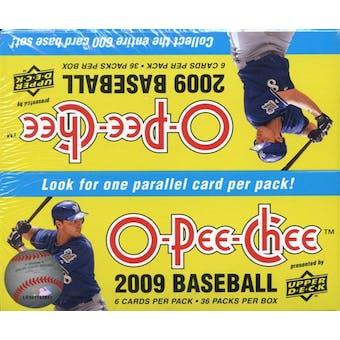 2009 Upper Deck O-Pee-Chee Baseball 36-Pack Box
