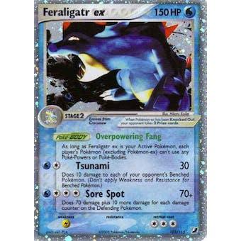 Pokemon Unseen Forces Single Feraligatr ex 103/115- SLIGHT PLAY (SP)