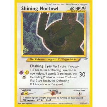 Pokemon Neo Destiny Single Shining Noctowl 110/105