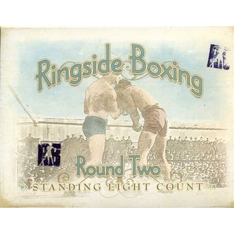 2011 Ringside Round 2 Boxing Hobby Box