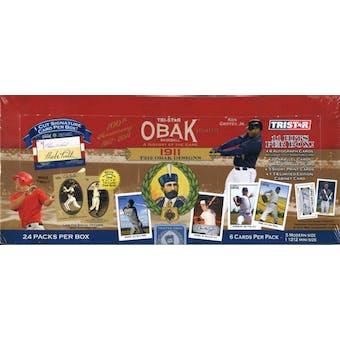 2011 TriStar Obak Baseball Hobby Box