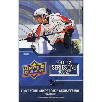 2011/12 Upper Deck Series 1 Hockey Hobby Box