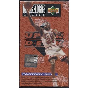 1995/96 Upper Deck Collector's Choice Basketball Factory Set (box)