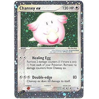 Pokemon Ruby & Sapphire Single Chansey ex 96/109 - NEAR MINT (NM)