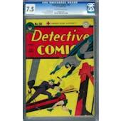 Detective Comics #98 CGC 7.5 (OW-W) *1042411001*