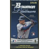 2011 Bowman Platinum Baseball Blaster 8-Pack Box