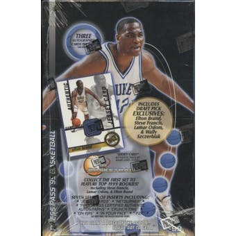 1999/00 Press Pass Basketball Hobby Box