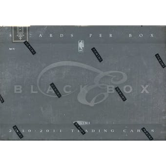 2010/11 Panini Elite Black Box Basketball Hobby Box