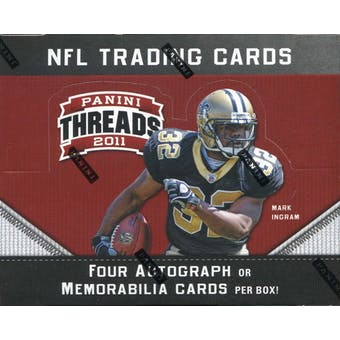 2011 Panini Threads Football Hobby Box