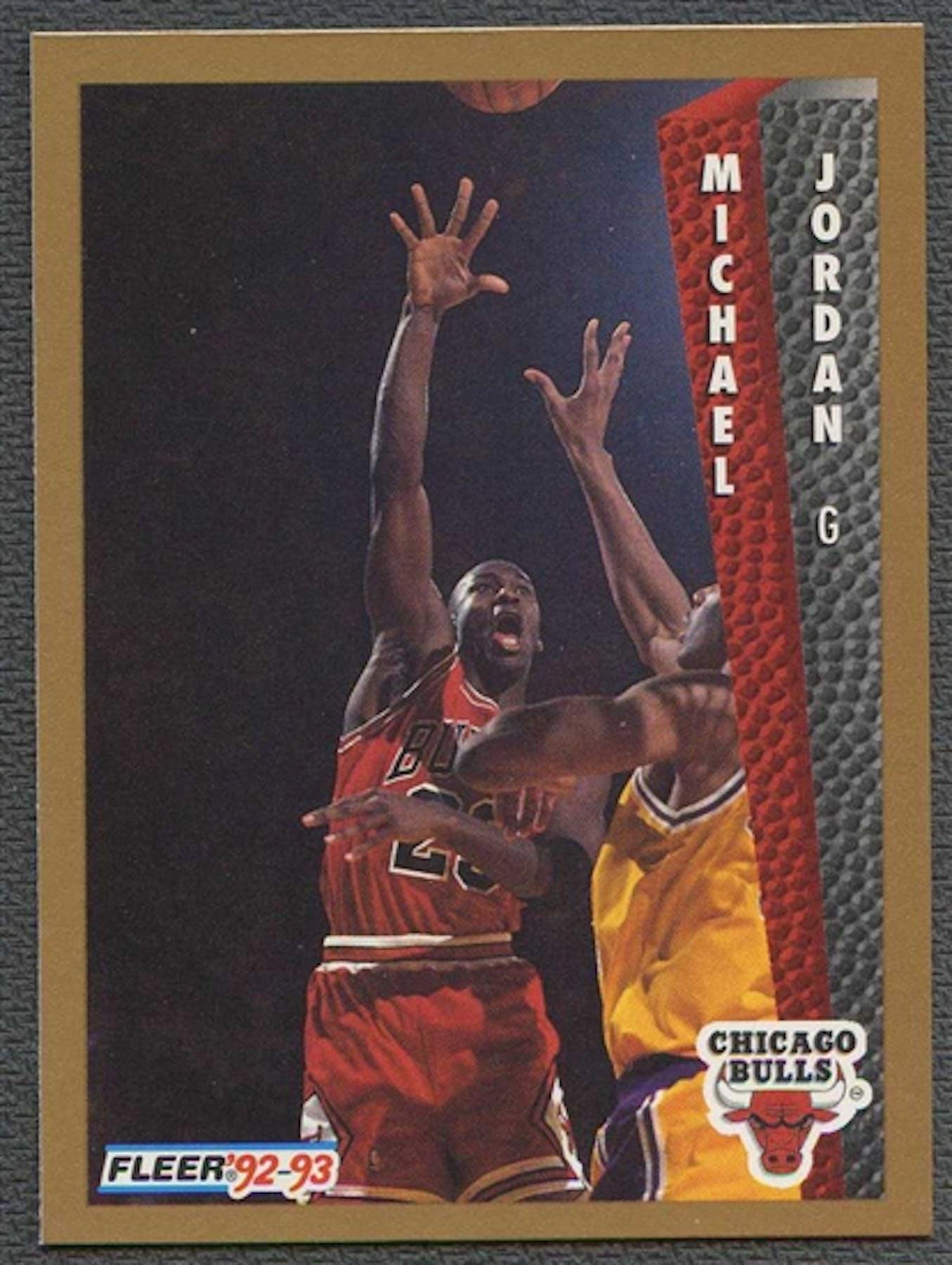 1992 93 Fleer Basketball 7 Michael Jordan