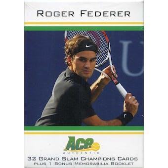 2011 Ace Tennis Roger Federer Grand Slam Hobby Box (Set)
