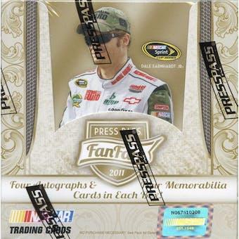 2011 Press Pass Fanfare Racing Hobby Box
