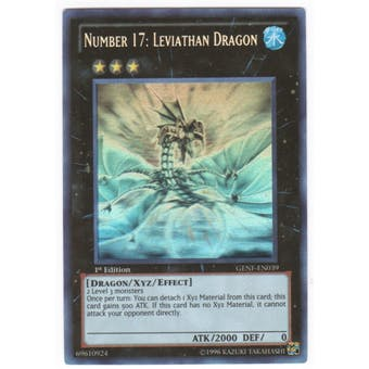 Yu-Gi-Oh Generation Force Single Number 17: Leviathan Dragon Ghost Rare
