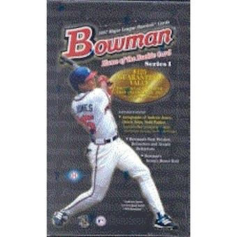 1997 Bowman Series 1 Baseball Hobby Box