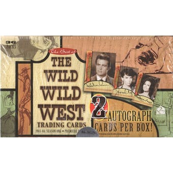 The Best of The Wild Wild West: 1965-66 Season One Box (Rittenhouse 2000)