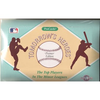 1991 Procards (AAA) Minor League Baseball Wax Box
