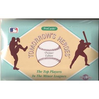 1991 Procards (AAA) Minor League Baseball Wax Box