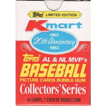 1982 Topps Baseball K-Mart 20th Anniversary MVP's Set Box