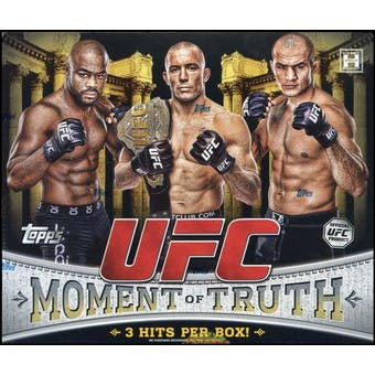 2011 Topps UFC Moment of Truth Hobby Box