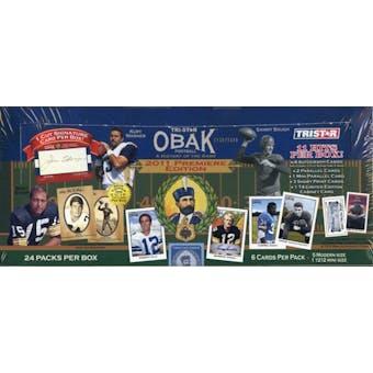 2011 TriStar Obak Football Hobby Box