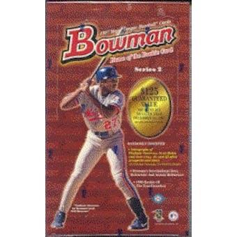 1997 Bowman Series 2 Baseball Hobby Box