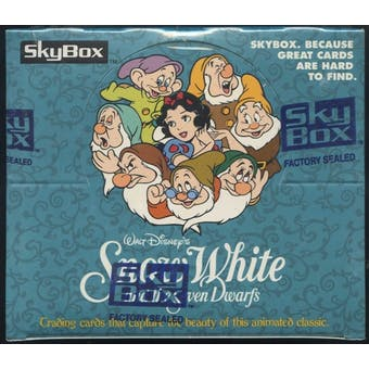 Snow White and the Seven Dwarfs Series 1 Hobby Box (1994 Skybox)