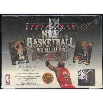 1992/93 Upper Deck Hi # Basketball Jumbo Box