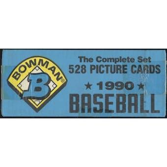 1990 Bowman Baseball Factory Set (Blue)