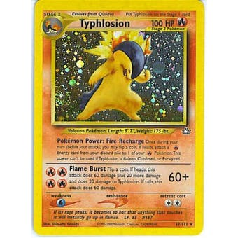 Pokemon Neo Genesis Single Typhlosion 17/111 - NEAR MINT (NM)