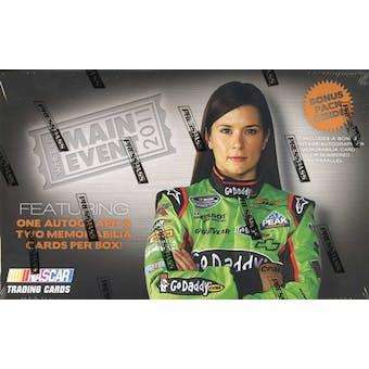 2011 Press Pass Wheels Main Event Racing Hobby Box