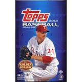 2012 Topps Series 1 Baseball Hobby Box