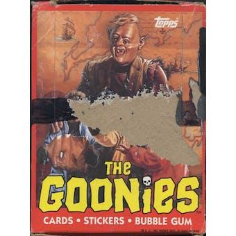 Goonies Wax Box (1985 Topps)