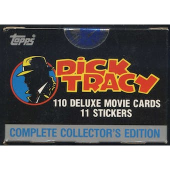 Dick Tracy Factory Set (1990 Topps)