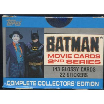 Batman Movie Series 2 Factory Set (1989 Topps)