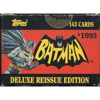 Batman Deluxe Reissue Edition Factory Set (1989 Topps)