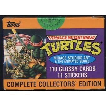 Teenage Mutant Ninja Turtles Factory Set (1989 Topps)