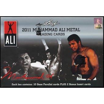 2011 Leaf Muhammad Ali Metal Boxing Hobby Box