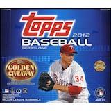 2012 Topps Series 1 Baseball Jumbo Box