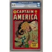 Captain America Comics #72 CGC 6.5 (W) *1056157004*