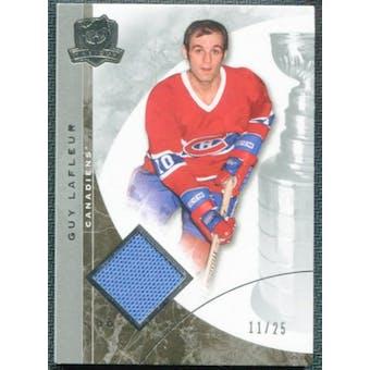 2008/09 Upper Deck The Cup Platinum Jerseys #45 Guy Lafleur 11/25