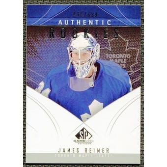 2009/10 Upper Deck SP Game Used #157 James Reimer RC /699