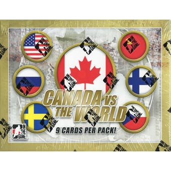 2011/12 In The Game Canada vs The World Hockey Hobby Box