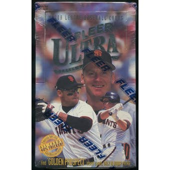 1996 Fleer Ultra Series 1 Baseball Hobby Box
