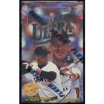 1996 Fleer Ultra Series 1 Baseball Hobby Box