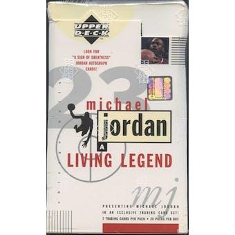 1998/99 Upper Deck Michael Jordan Living Legend Basketball Box