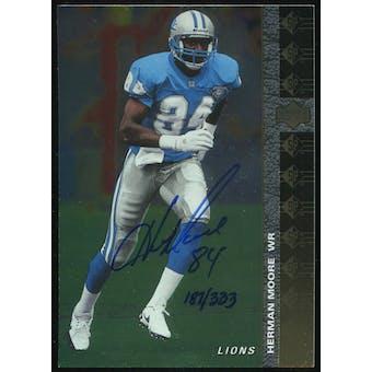 2000 Upper Deck SP Authentic Buy Back Autographs #82 Herman Moore 94SP 187/333